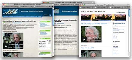 création de blogs pour le sociologue Yvon Minvielle